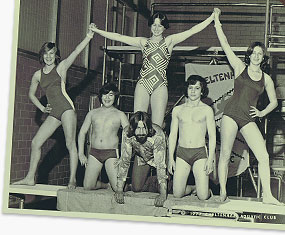 1977 at the Cheltenham Swim Meet. That's me in the center top.